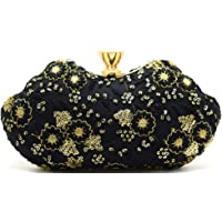 Tooba Handicraft Party Wear Box Clutch Bag Purse For Bridal, Casual, Party, Wedding