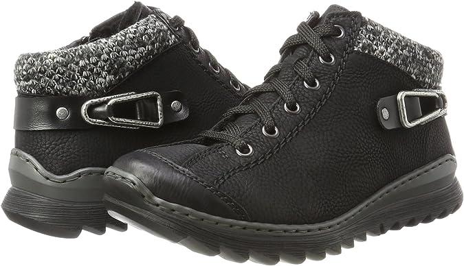 Rieker Damen M6238 Hohe Sneaker: : Schuhe & Handtaschen