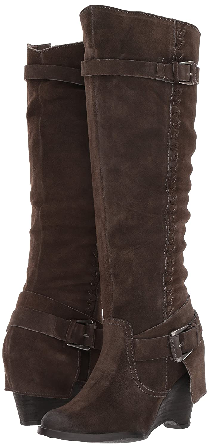 Naughty Monkey Women's Double up Slouch Boot B071DWYCSW 7 B(M) US|Grey