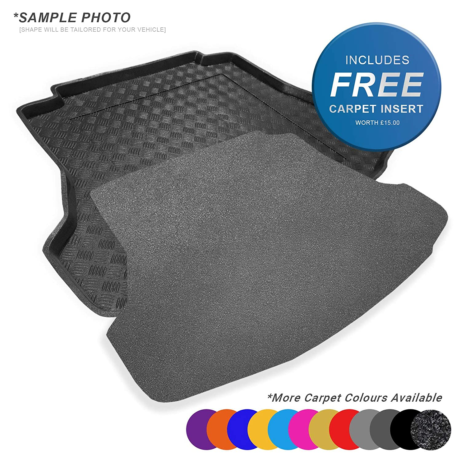 7367 MTM Boot Liner GLC Tailored Trunk Mat with Antislip cod X253 from 09.2015-