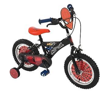 Spiderman - Bicicleta Infantil (35,5 cm), Color Rojo: Amazon.es ...