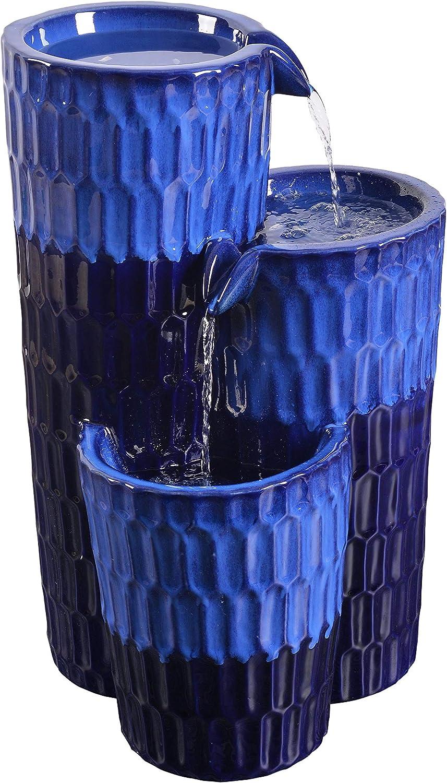 Kenroy Home 51078CB Nueva Fountains, Cobalt