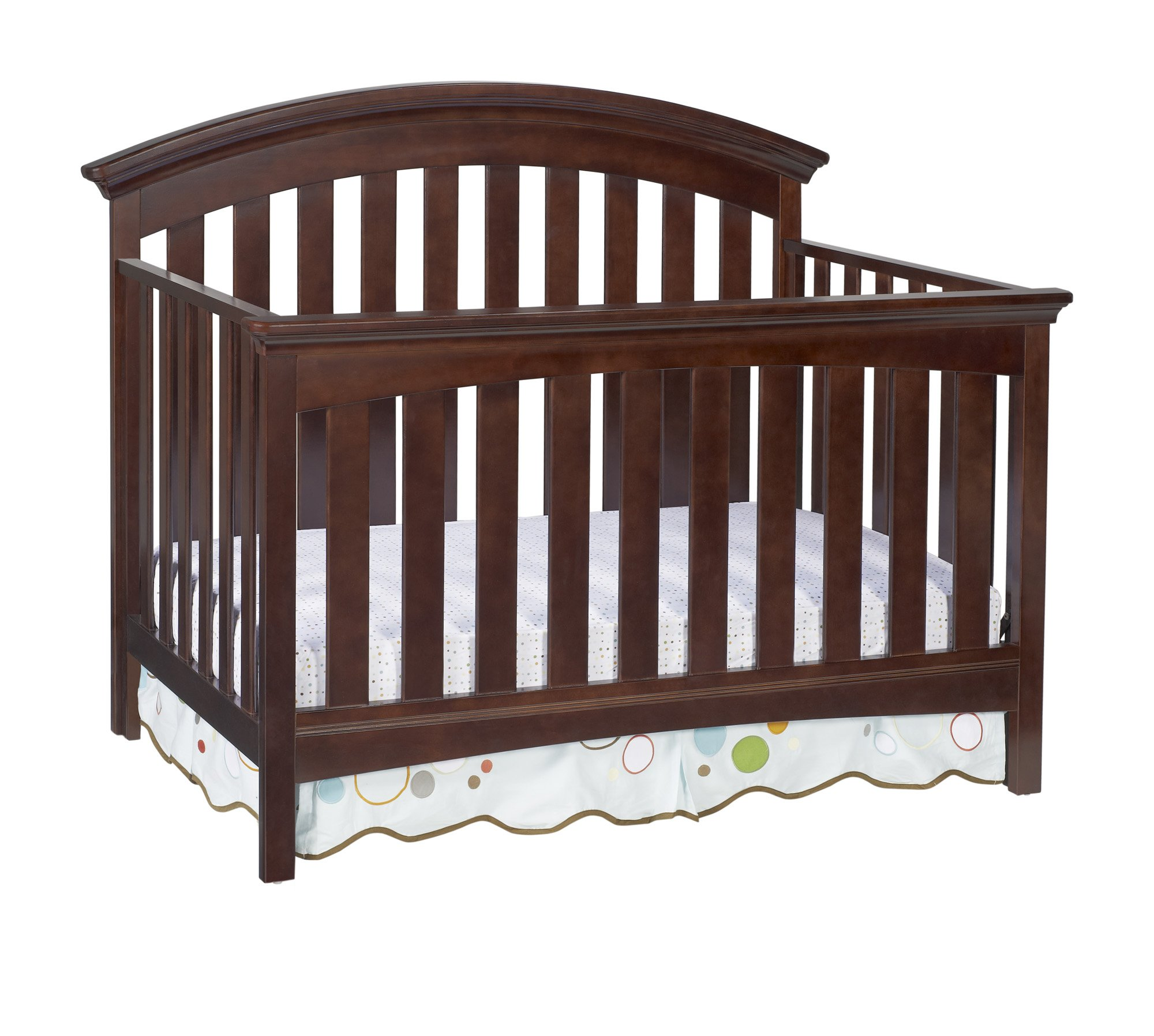 Delta Children Bentley 4 in 1 Crib, Chocolate