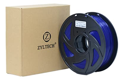 ZYLtech 3D Printer Filament PLA 1 75 mm 1 kg/2 2 lbs Deep Blue