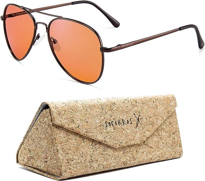 Orange Blue Limar S7 PC Polycarbonate Lens Cycling Sunglasses