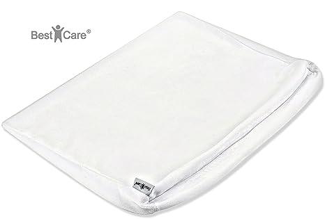 BestCare® - Hecho en la UE, Funda de colchón antirreflujo para bebé, adecuado