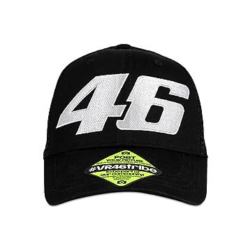 Valentino Rossi VR46 Moto GP Core Trucker Gorra Negro Oficial 2018: Amazon.es: Deportes y aire libre