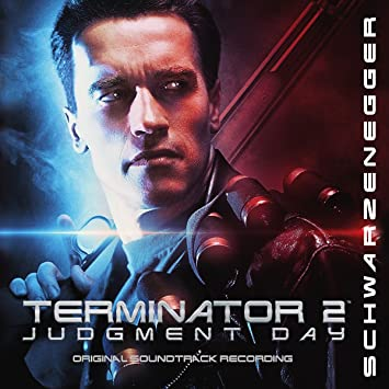 Image result for terminator 2 soundtrack vinyl art