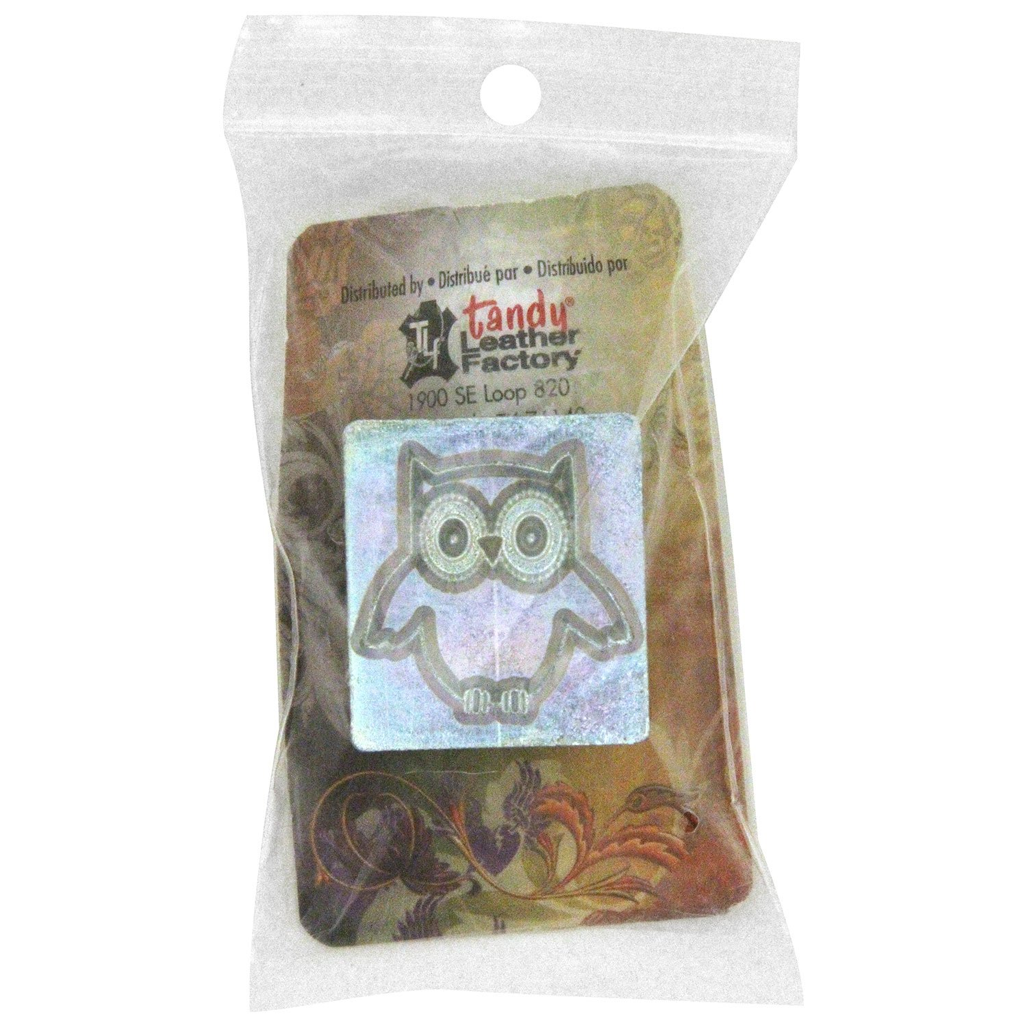 Tandy Leather Craftool� 3-D Stamp Owl 8678-00