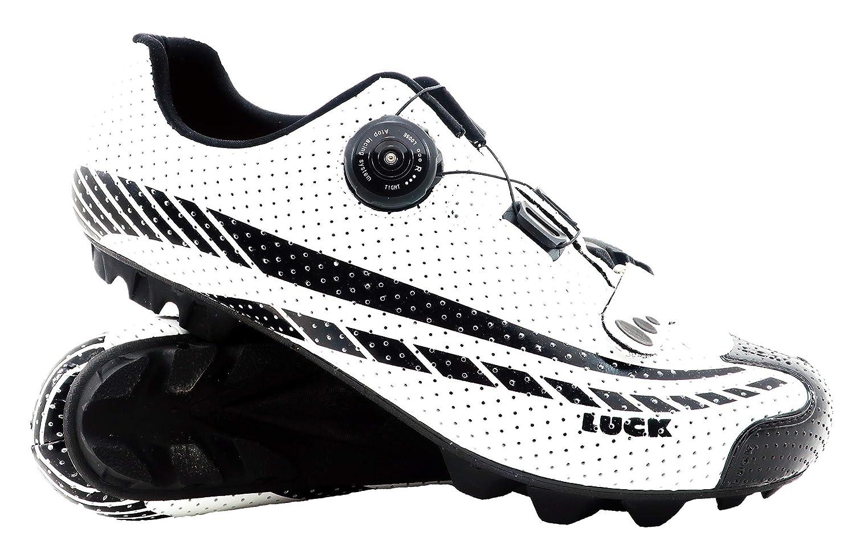 LUCK Zapatillas de Ciclismo Kratos MTB 2019, con Suela de Carbono y Sistema rotativo. (37 EU): Amazon.es: Deportes y aire libre