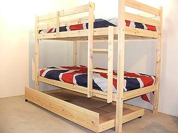 Etagenbett 70 160 : Goliath heavy duty bunk bed etagenbett 75 x 160 cm mit bettkasten