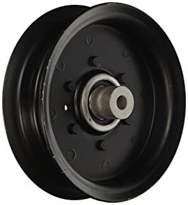 """MaxPower 13175 Flat Idler Pulley 3/8"""" ID X 5-3/8"""" OD for Poulan/Husqvarna/Craftsman Mowers Replaces OEM # 196106, 197379, 532196106"""