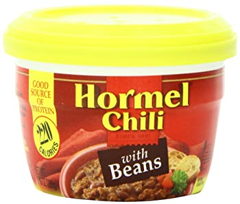 Hormel Microwavable Cup Chili with Beans