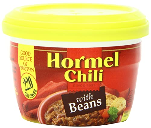 Hormel Microwaveable Cup Chili With Beans