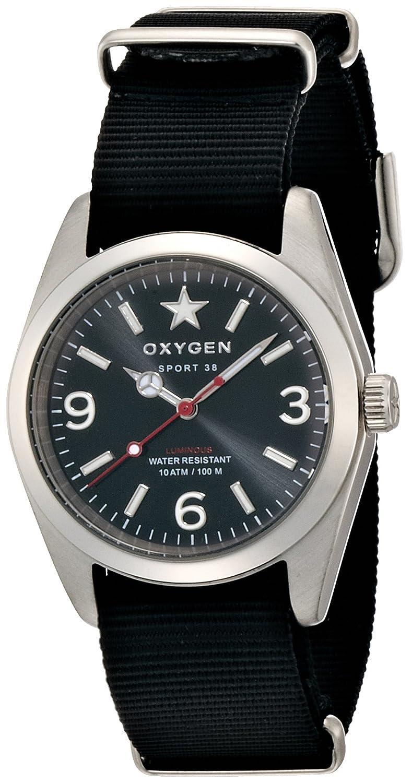 [オキシゲン]OXYGEN 腕時計 Sport 38(スポーツ38) Washington(ワシントン) WAS-38-BL メンズ 【正規輸入品】 B00IEZIEZQ