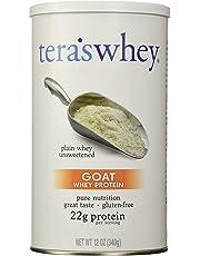 tera's: Gluten-Free Certified Goat Whey Protein, Unsweetened, 12 oz