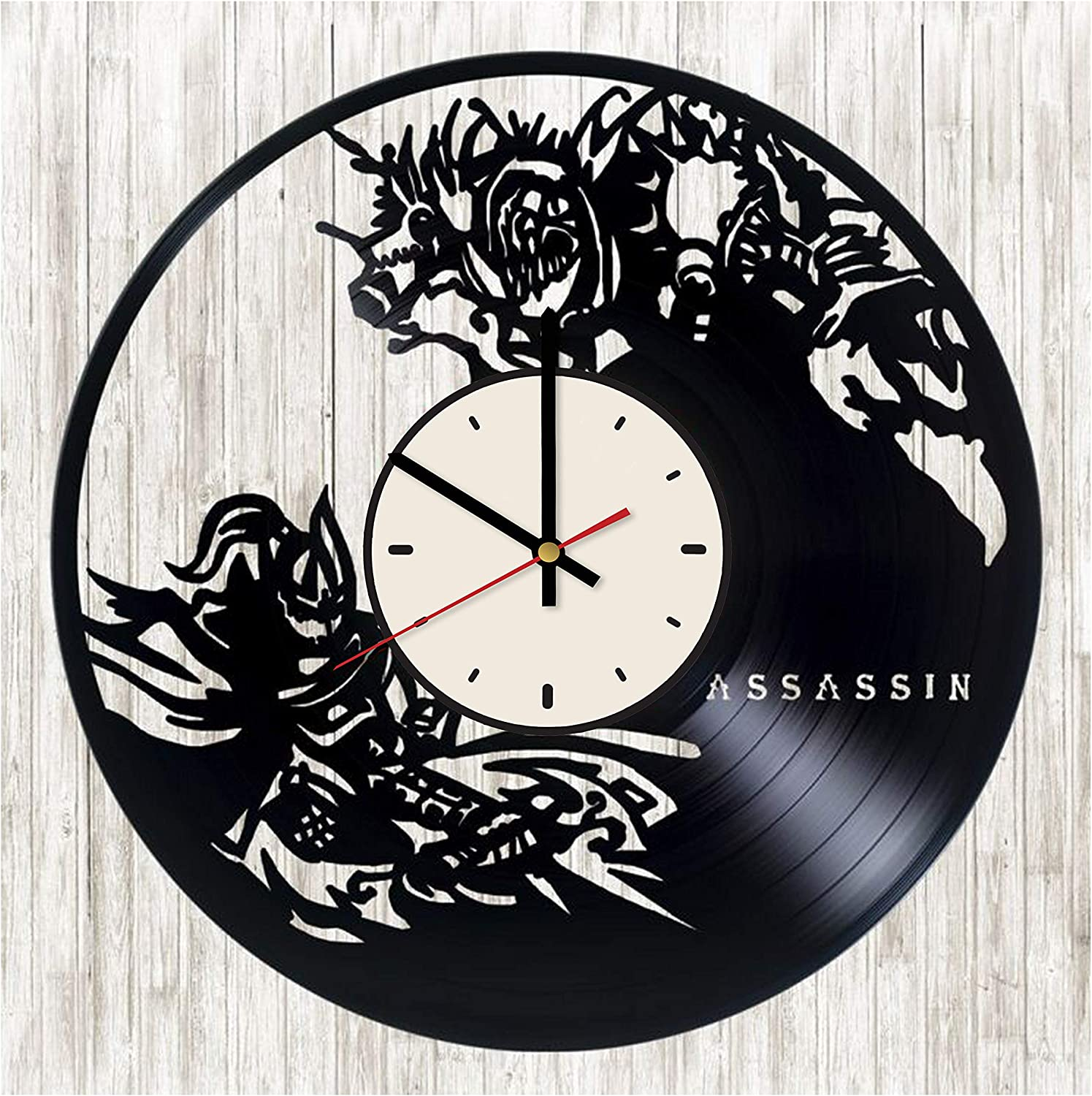 Amazon Com Video Game Vinyl Clock Gamer Fans Birthday Gifts Ideas Gamer Room Home Wall Decor Home Kitchen