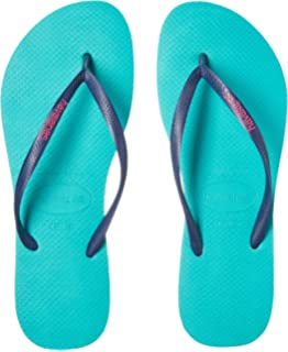 ecf0f3ba821d5 Havaianas Women s Slim Logo Pop Up Multicolored Flip-Flop Sandals