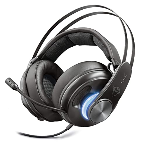Trust GXT 383 Dion Auriculares Gaming Sonido Envolvente Surround 7 1 Negro