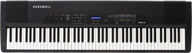 Kurzweil SPS4-8 - Teclado MIDI (USB, 131,45 cm, 36,83 cm, 11,43 cm, Corriente alterna, 90-250V) Negro