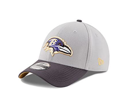 3f993340994 Amazon.com   NFL Baltimore Ravens Gold Collection 39THIRTY Stretch ...