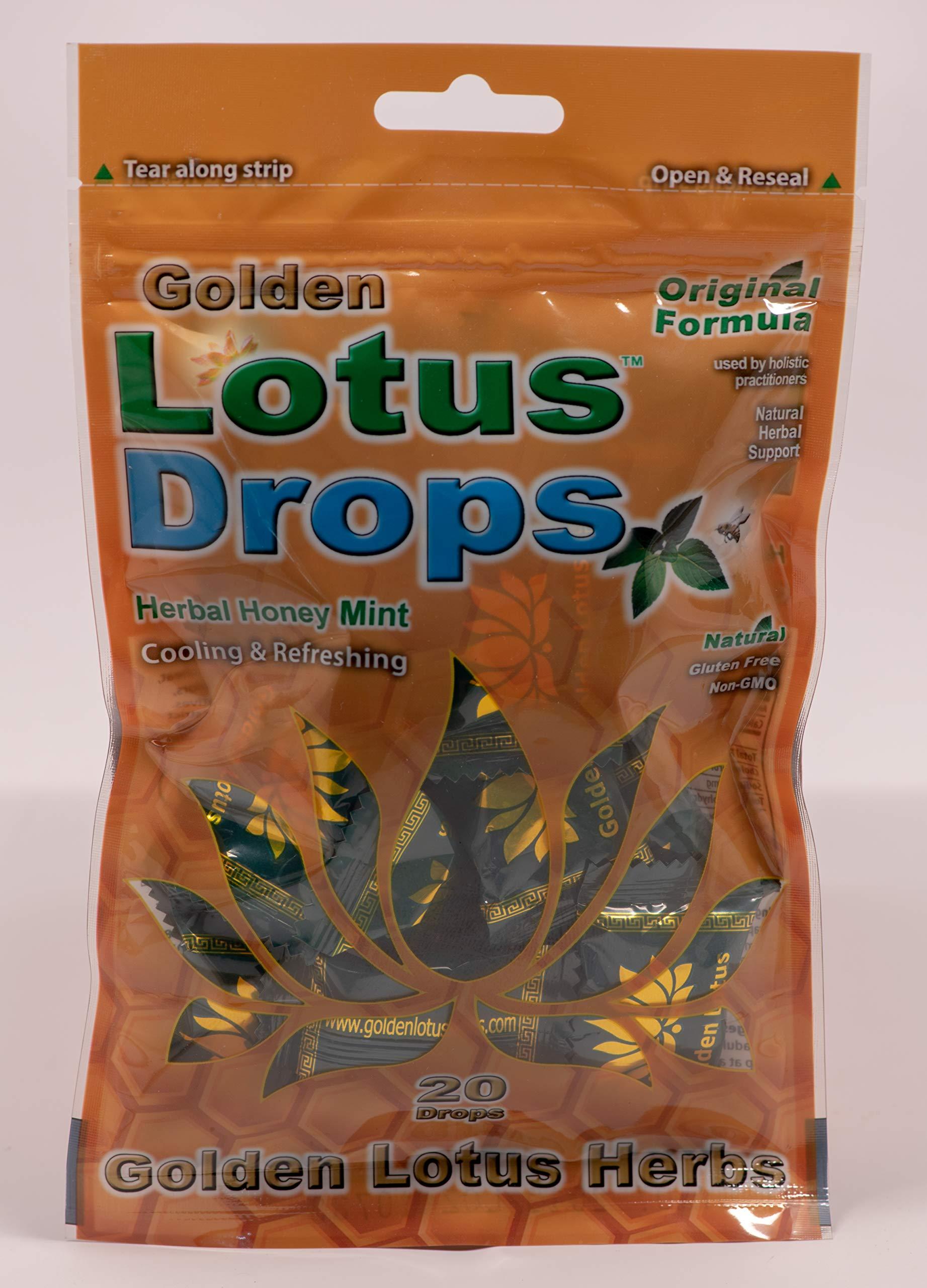 GOLDEN LOTUS HERBS Golden Lotus Drops Single Pk (Original Formula), 20 Count by Golden Lotus Herbs