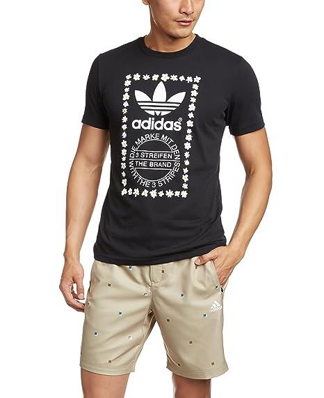 b702b9da43ddd adidas Originals Mens Pharrell Williams Graphic T-Shirt in Black White  adidas  Originals  Amazon.co.uk  Clothing