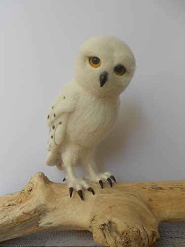 amazon com harry potter owl gift snowy owl sculpture faux