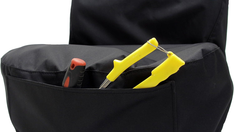Werkstattsitzbezug mit Taschen Universal Schonbezug Nylon für Land Rover.