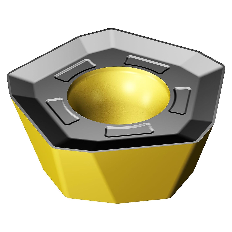 0.03 mm Corner Radius Sandvik Coromant 419R-1405M-PM 3330 Carbide Milling Insert Positive Chip Breaker Pack of 10