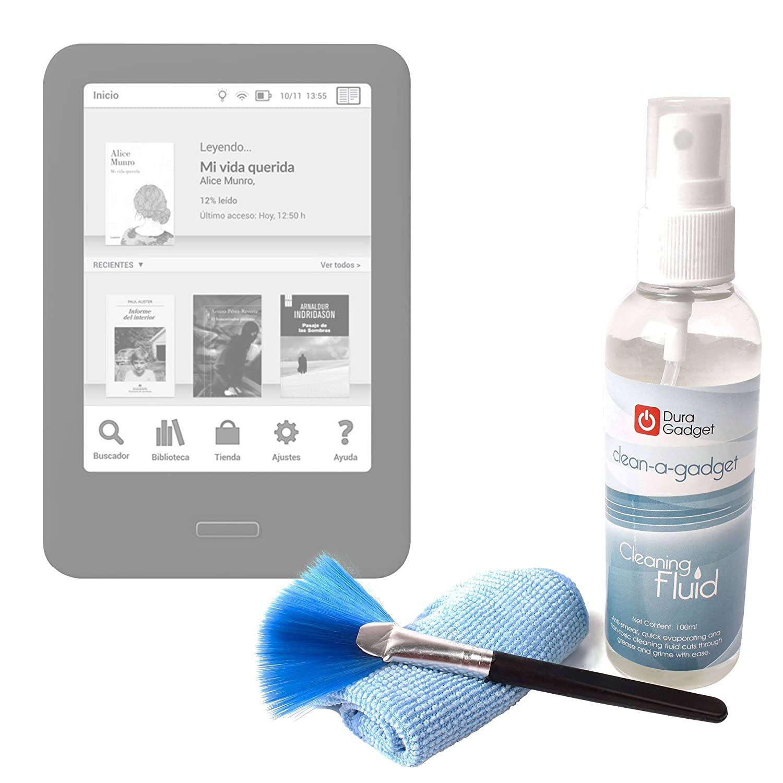 DURAGADGET Kit para Limpiar La Pantalla De Libro electrónico BQ ...