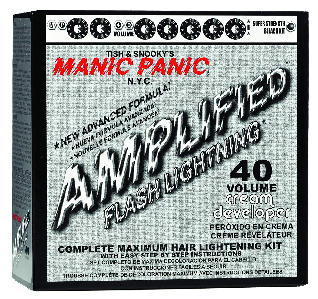 Manic Panic Flash Lightning Hair Bleach Kit 30 Vol