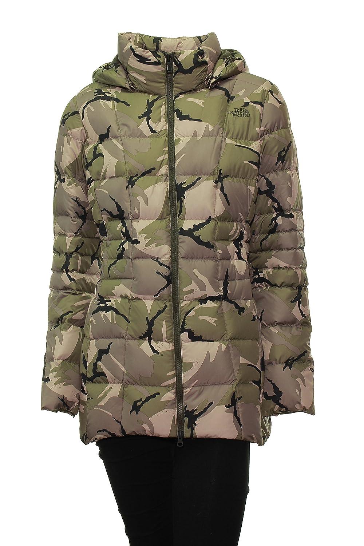 33812e39e The North Face Women's Transit Down Jacket Green Camo, Medium at ...