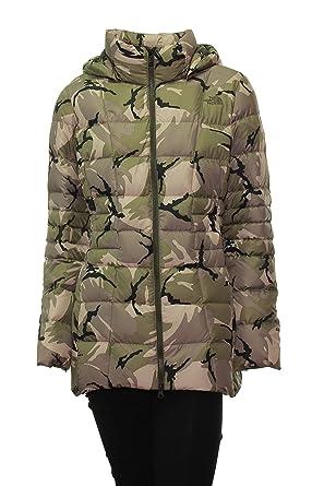 3ebdcdff0 The North Face Women's Transit Down Jacket Green Camo, Medium at ...