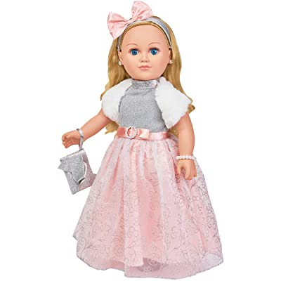"""My Life As 18"""" Poseable Winter Princess Doll, Blonde Hair with a Soft Torso: Toys & Games"""