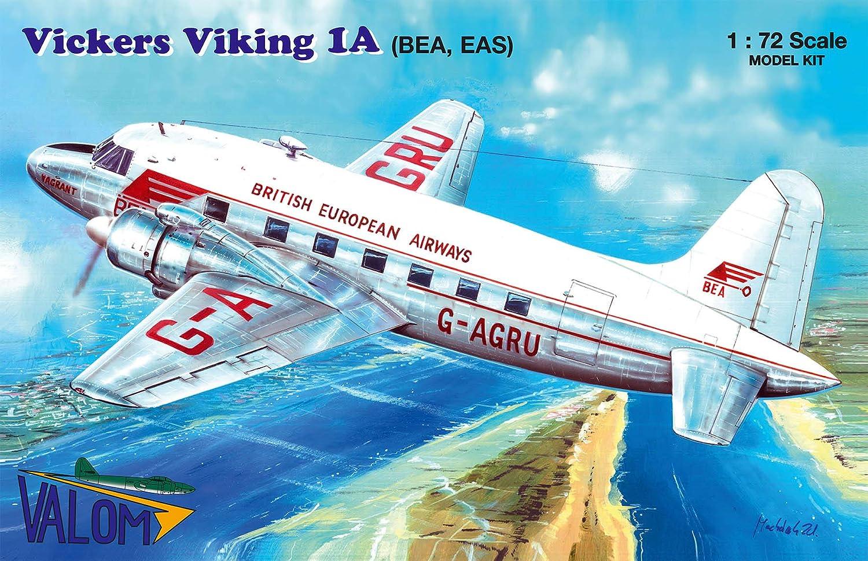 Plastic Model Building Kit # 72149 BEA, EAS Valom 1//72 Scale Vickers Viking 1A