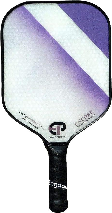 Engage Encore Pickleball Paddle Purple Fade