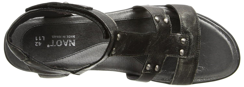 Vionic Women's Spark Minna Ballet Flat B004I720J0 42 M EU|Metal Leather