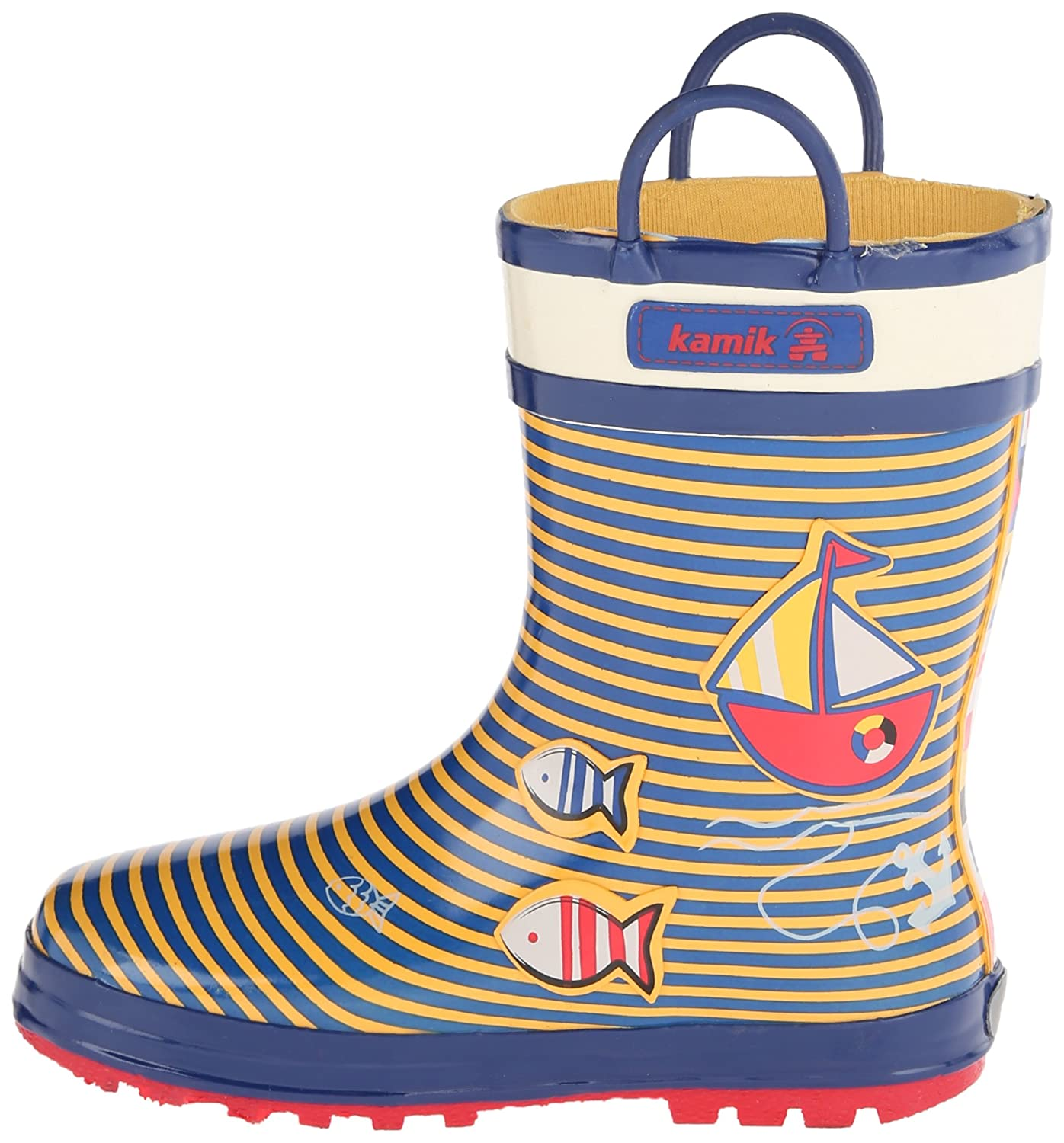 Ahoy Little Kid Kamik Ahoy Rain Boot K