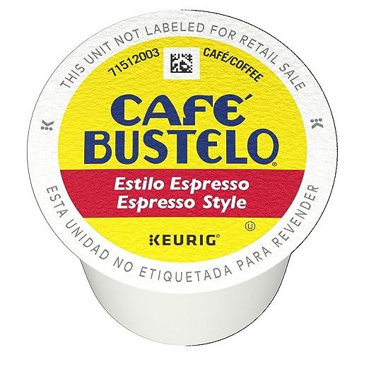 Cafe Bustelo Espresso K Cup