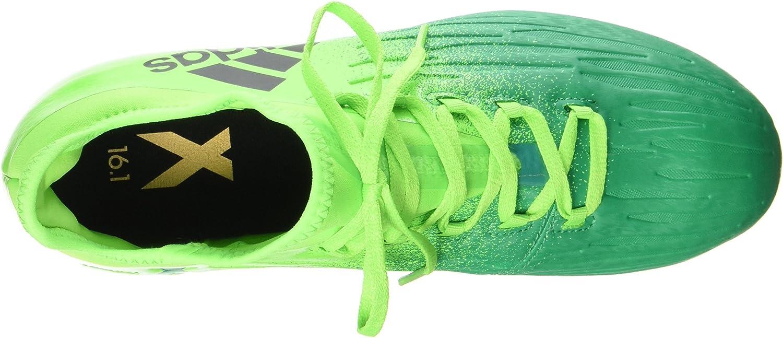 Adidas Boys X 16.1 Fg J Futsalschuhe Solar Green Core Black Core Green