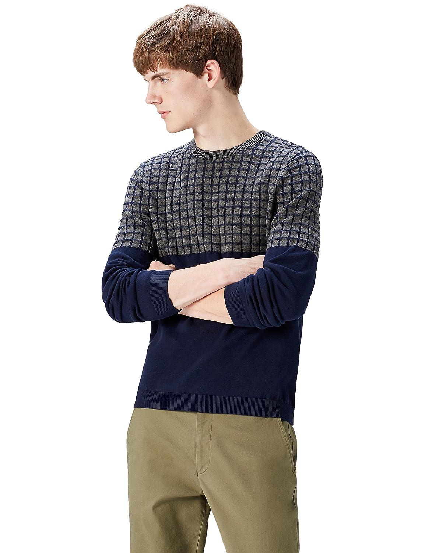 Marca Amazon - find. Jersey con Textura para Hombre