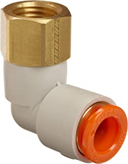 Nickel Plated Brass 5//32 Push-to-Connect Tube x 1//16 Male NPTF Parker Hannifin W68PLP-5//32-1-pk5 Prestolok PLP Male Connector Push-to-Connect Fitting Pack of 5