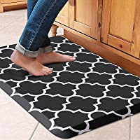 """WISELIFE Kitchen Mat Cushioned Anti-Fatigue Kitchen Rug,17.3""""x 28"""",Non Slip Waterproof Kitchen Mats and Rugs Heavy Duty…"""