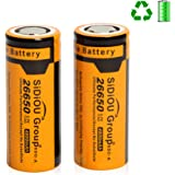 Sidiou Group 26650 3.7v 4800mAh Batterie lithium-ion rechargeable