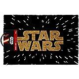 Star Wars Logo Felpudo, marrón