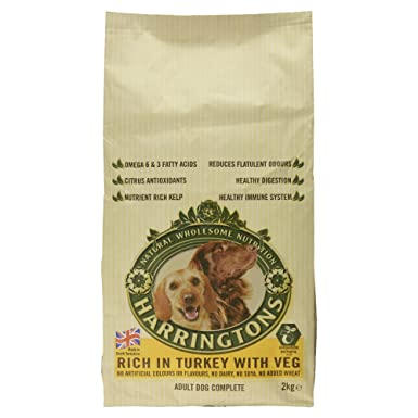 f8269d5c60fb14 Harringtons Complete Dry Dog Food Rich in Turkey with Vegetables ...