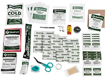 MediCare Deluxe First Aid Kit (115 Items) The Most Esse...