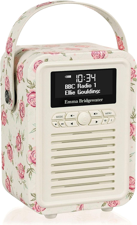 VQ Retro Mini Radio Digital Dab /& Dab+ dise/ño Emma Bridgewater Rosa Abeja