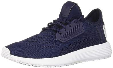 sneakers for cheap cb8f5 d2876 PUMA UPRISE MESH Sneaker Peacoat White, 6.5 M US